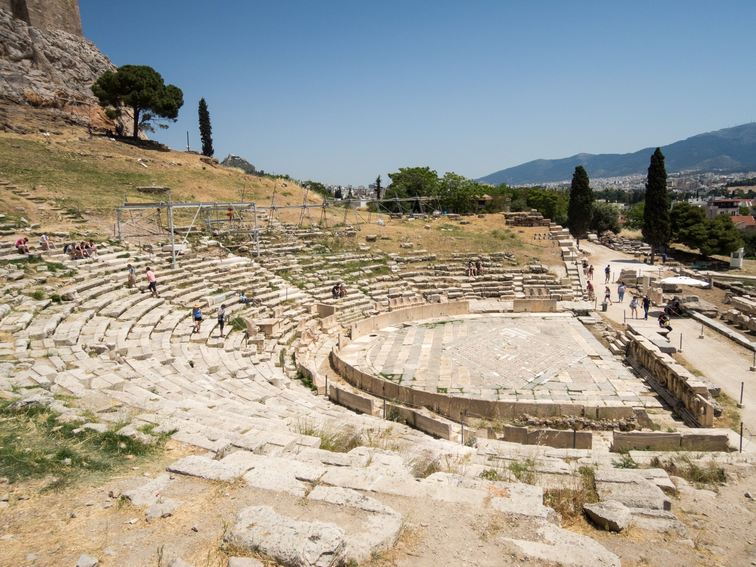 The Theatre of Dionysus - Sheet1