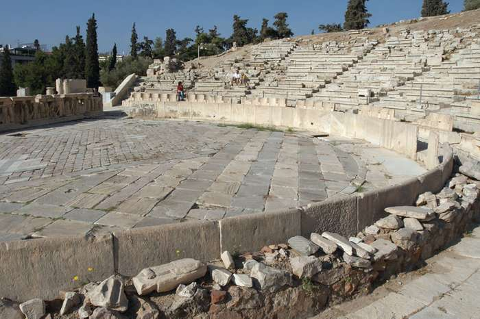 The Theatre of Dionysus - Sheet2