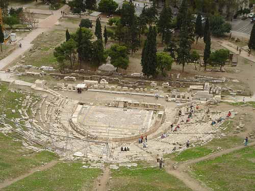 The Theatre of Dionysus - Sheet3