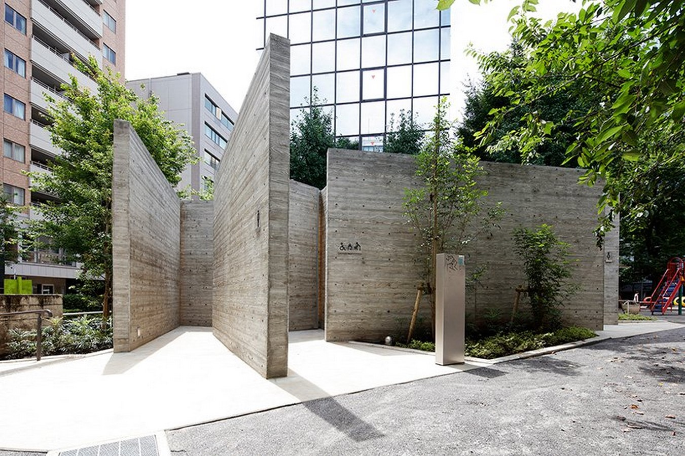 Concrete Tokyo toilet designed by Wonderwall references primitive Japanese huts - Sheet2