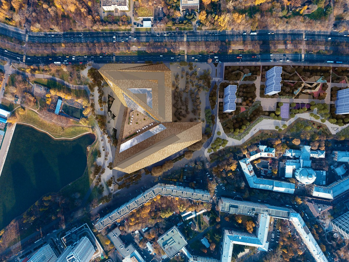 Titanium-clad headquarters for Yandex in Moscow revealed by PLP Architecture - Sheet3