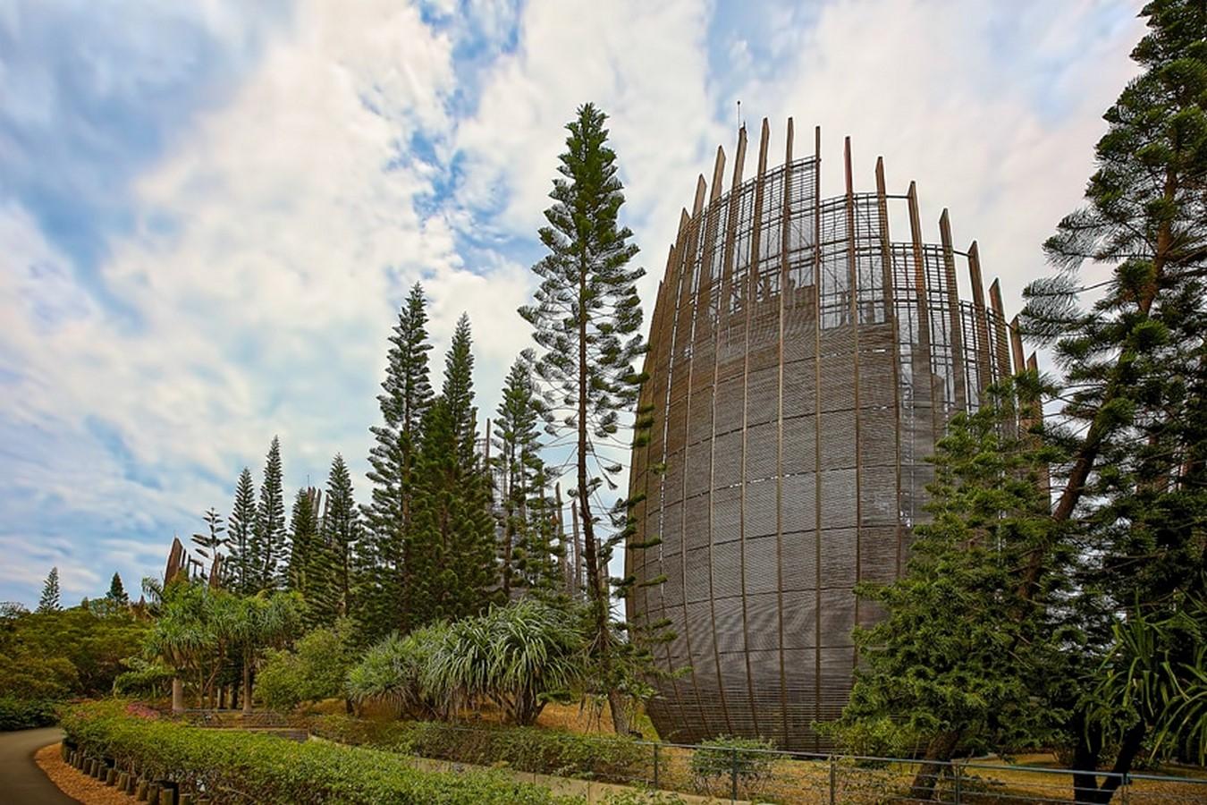 Jean-Marie Cultural Center by Renzo Piano: Symbolizing the Kanak civilization - sheet 9