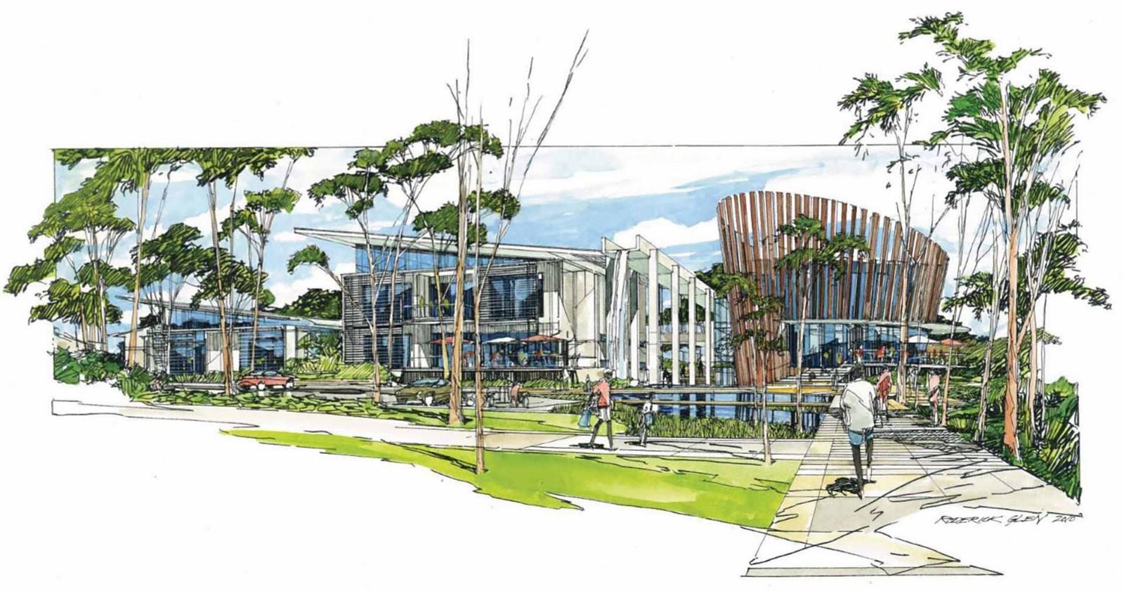 Sustainable buildings - Australian Centre - sheet 2