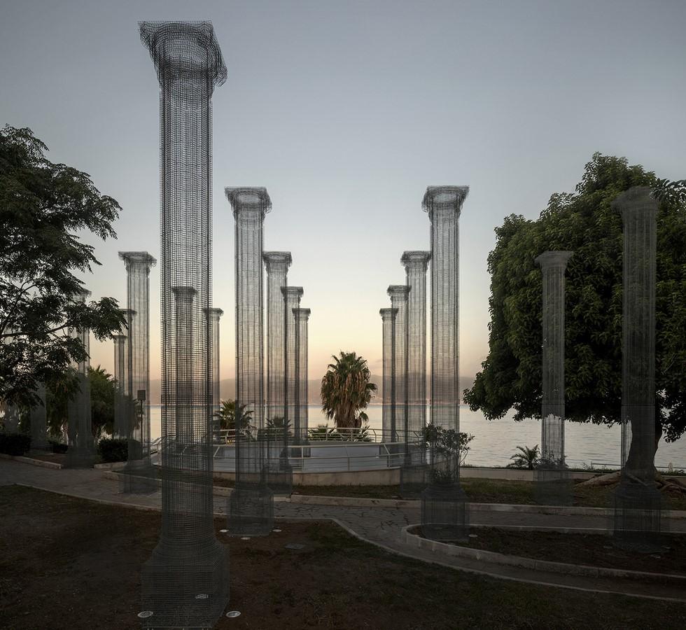 Opera,a Permanent Wire Mesh Installation in Italy revealed by Edoardo Tresoldi - Sheet1