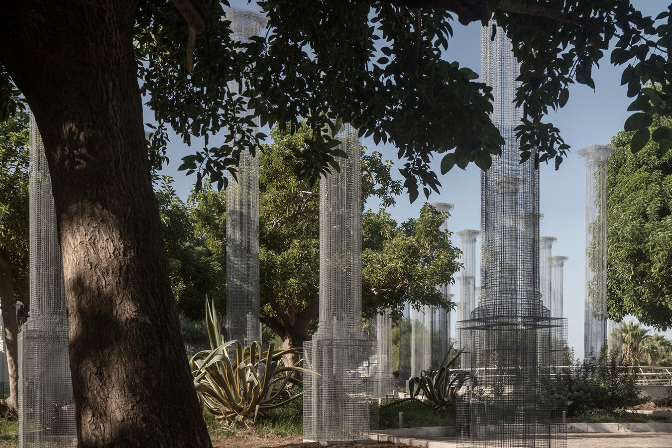 Opera,a Permanent Wire Mesh Installation in Italy revealed by Edoardo Tresoldi - Sheet5