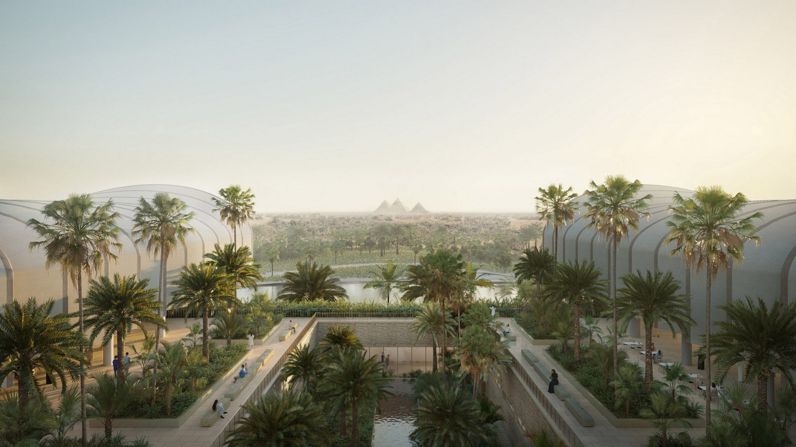 Construction begins on Cairo's New Global Heart Hospital designed by Foster + Partners - Sheet1