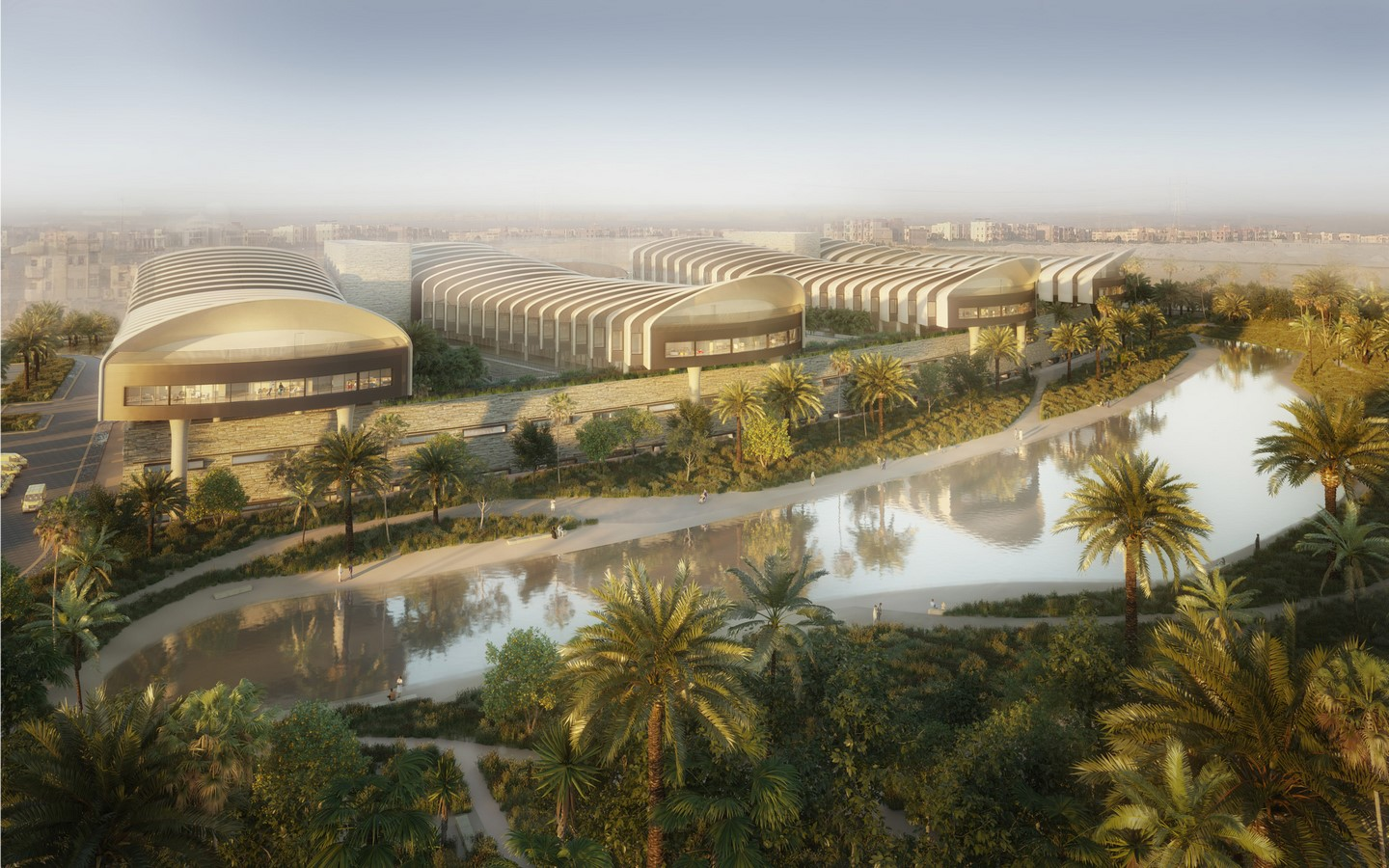 Construction begins on Cairo's New Global Heart Hospital designed by Foster + Partners - Sheet2