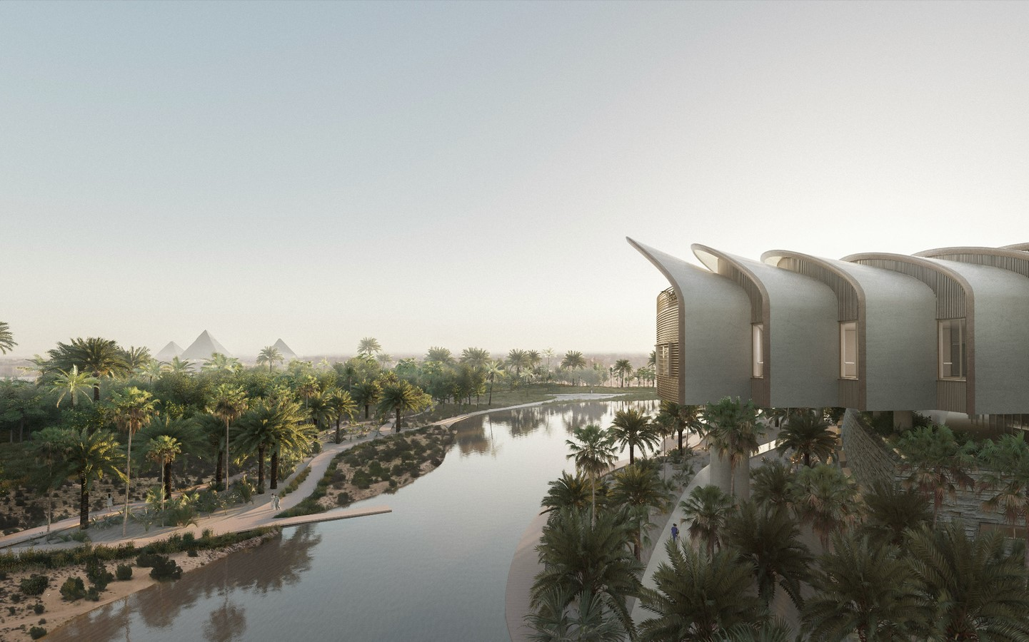 Construction begins on Cairo's New Global Heart Hospital designed by Foster + Partners - Sheet3