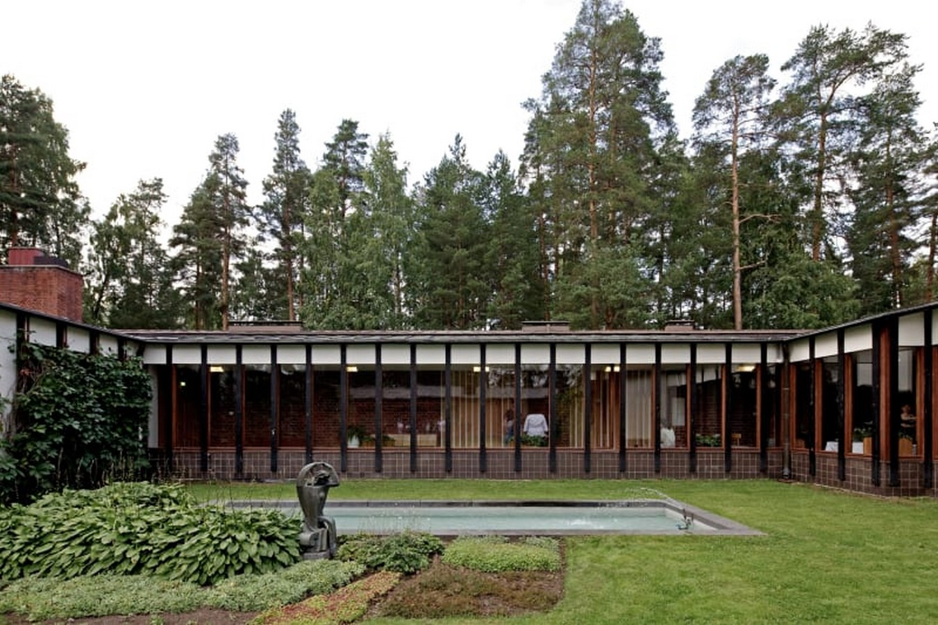 Saynatsalo Town Hall by Alvar Aalto: Collaboration in Architecture - Sheet5