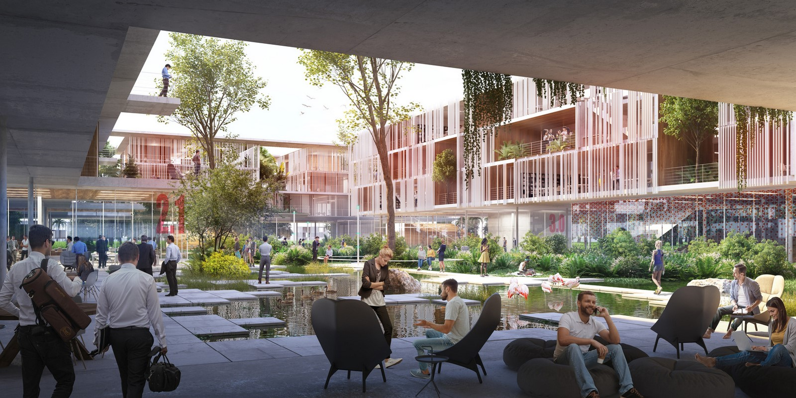'BIOTIC' technology and innovation district for Brasilia revealed by Carlo Ratti - Sheet5