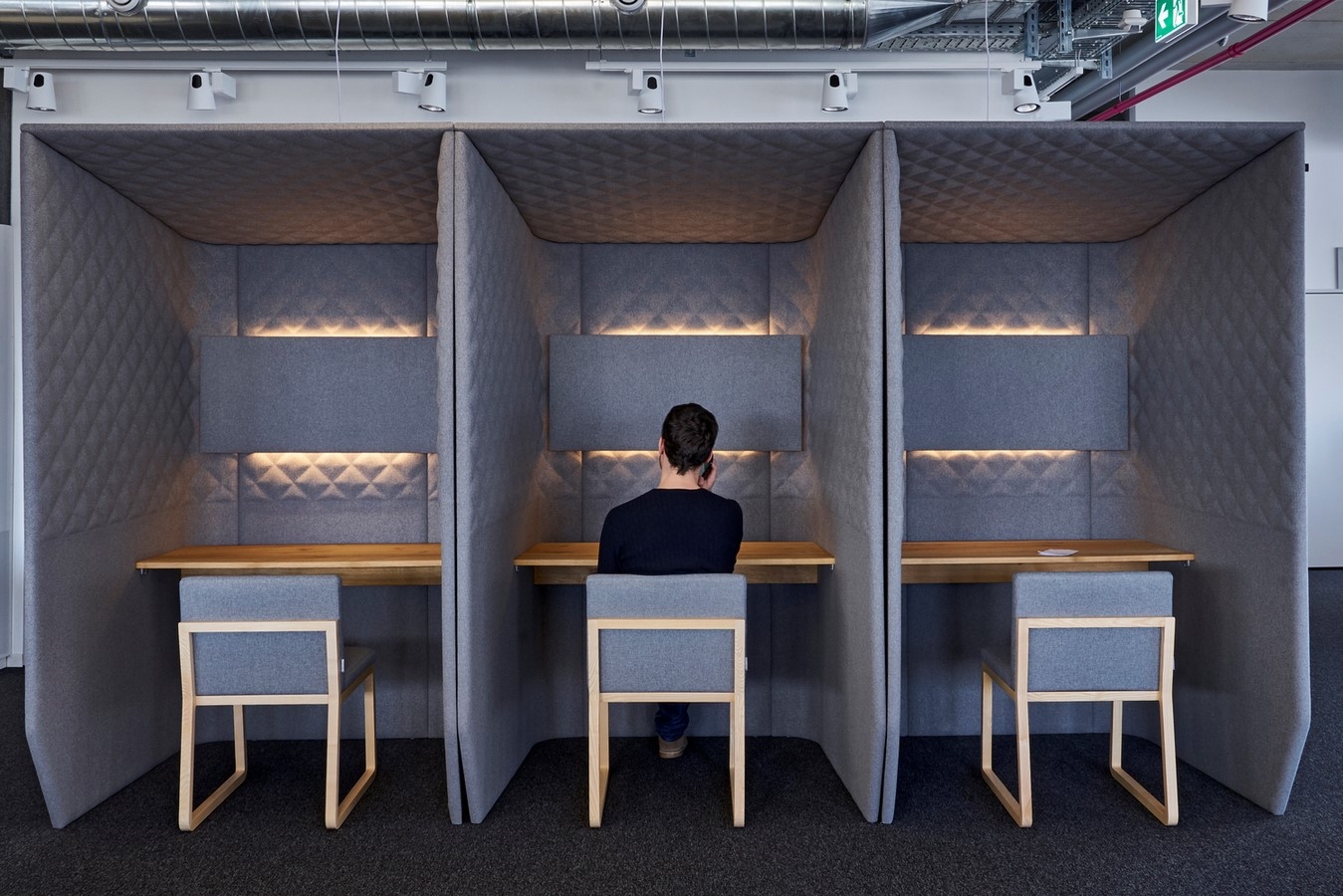 Open plan v/s grids in workplaces- Sheet3
