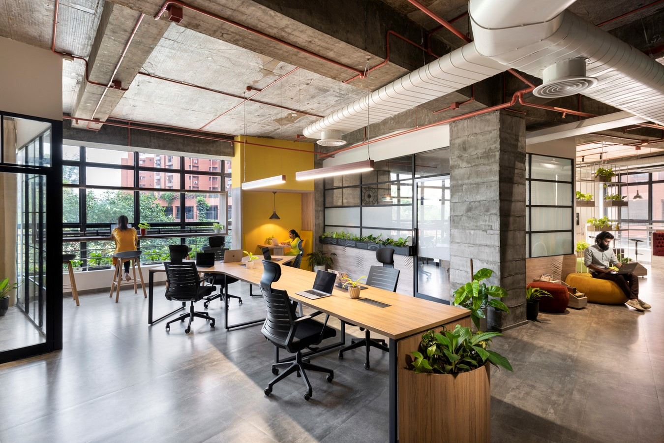 Open plan v/s grids in workplaces- Sheet6