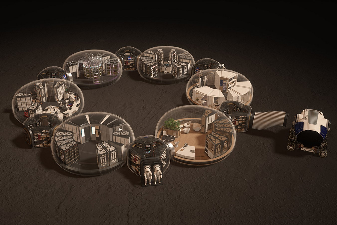 Growing relevance of architecture in Space - Sheet2