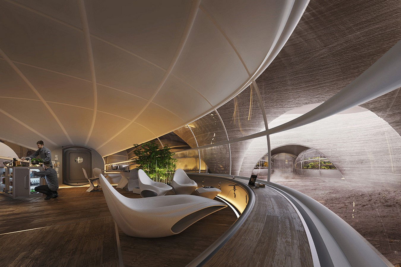 Growing relevance of architecture in Space - Sheet5