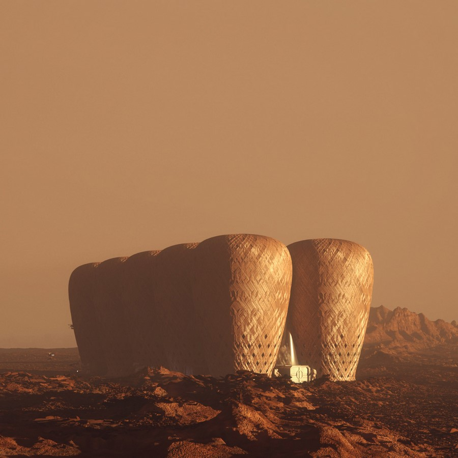 Growing relevance of architecture in Space - Sheet9