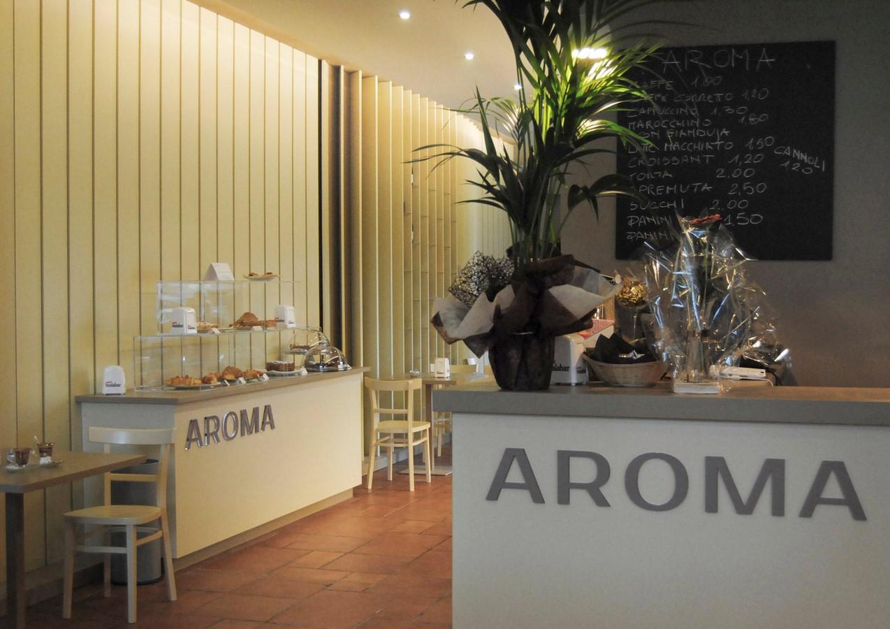 Aroma Cafѐ - Sheet1