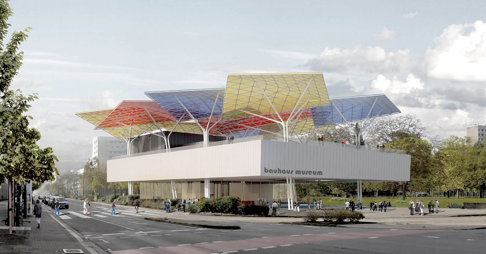 Bauhaus Museum Dessau - Sheet1