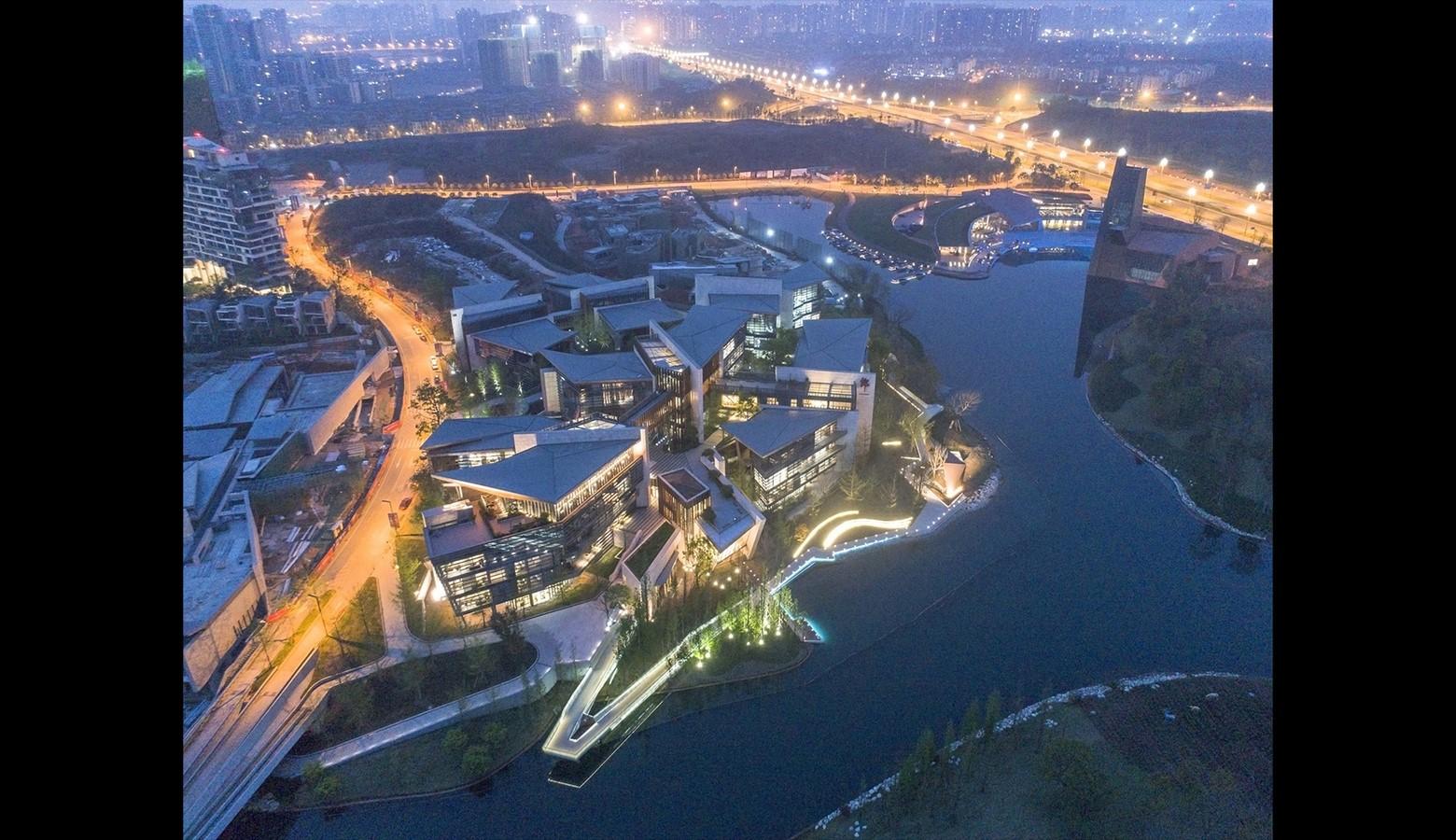 Chengdu Lulu's Headquarter Park - Sheet1