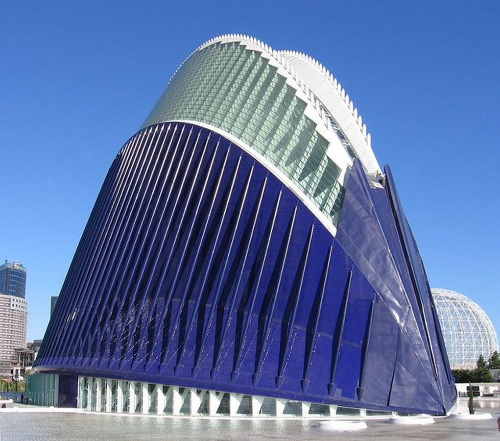 Santiago Calatrava: Modern scientific and cultural complex - Sheet9