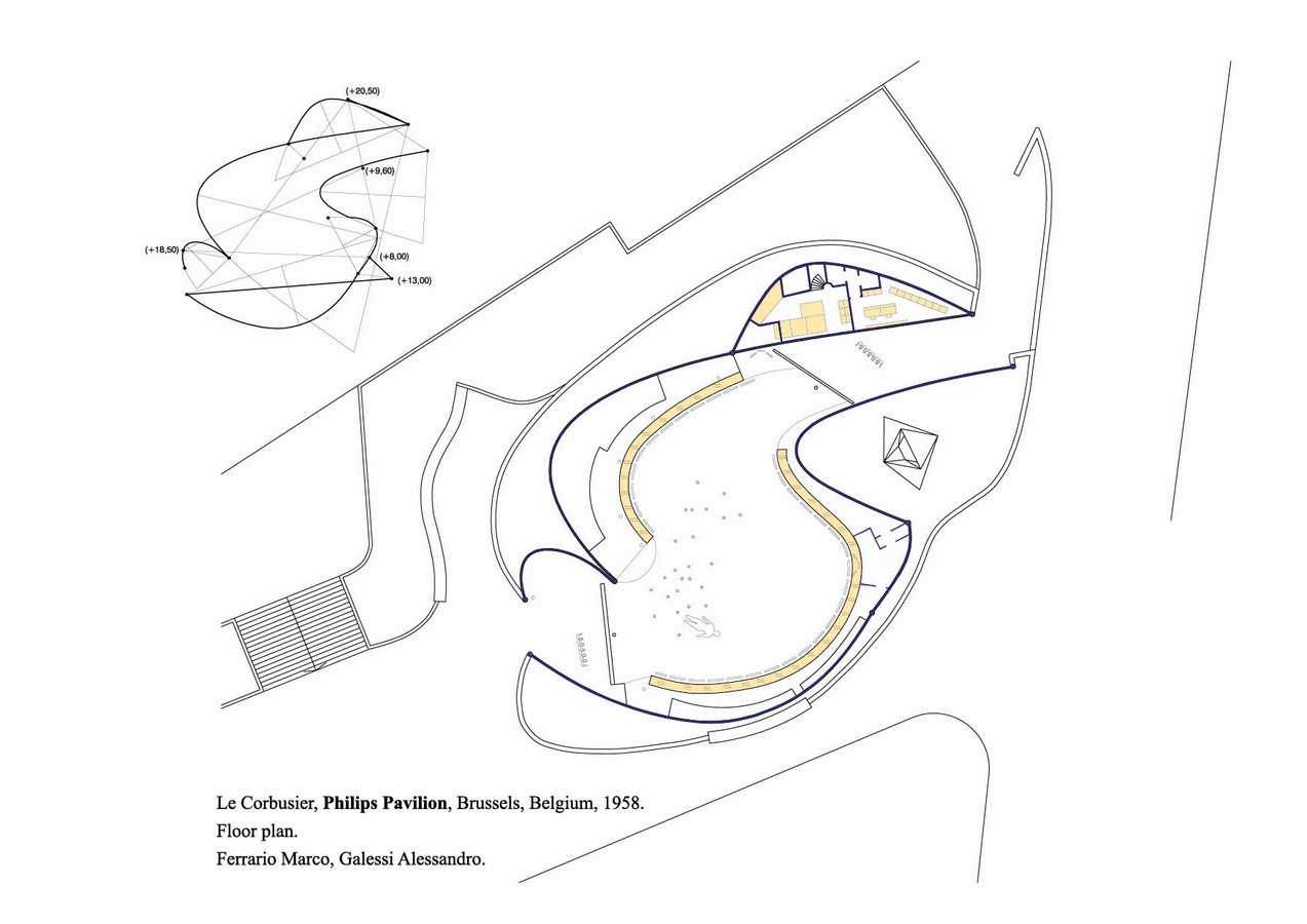 Philips Pavilion, Brussels by Le Corbusier: Organic Synthesis - Sheet5