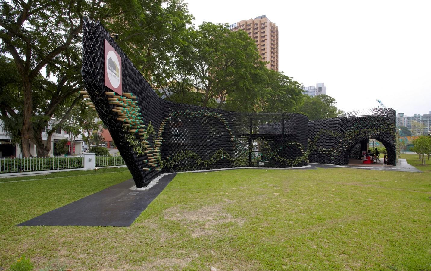 Archifest Zero Waste Pavilion in Singapore, WOW Architects - Sheet1