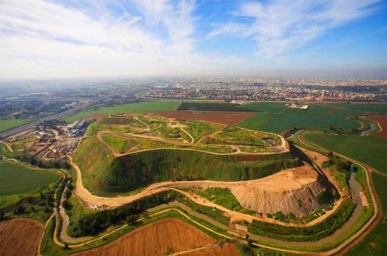 Ariel Sharon Park in Tel Aviv - Sheet1