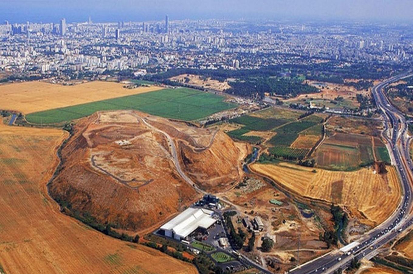 Ariel Sharon Park in Tel Aviv - Sheet2