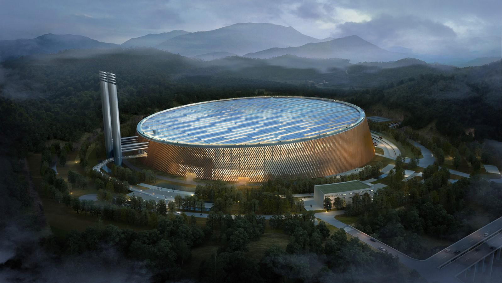 Waste-To-Energy Plant in Shenzhen, Schmidt Hammer Lassen And Gottlieb Paludan - Sheet1