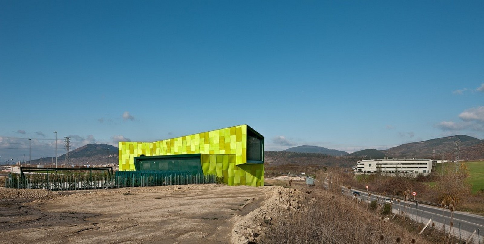Urban Solid Waste Collection Central in Spain, Vaillo + Irigaray - Sheet1