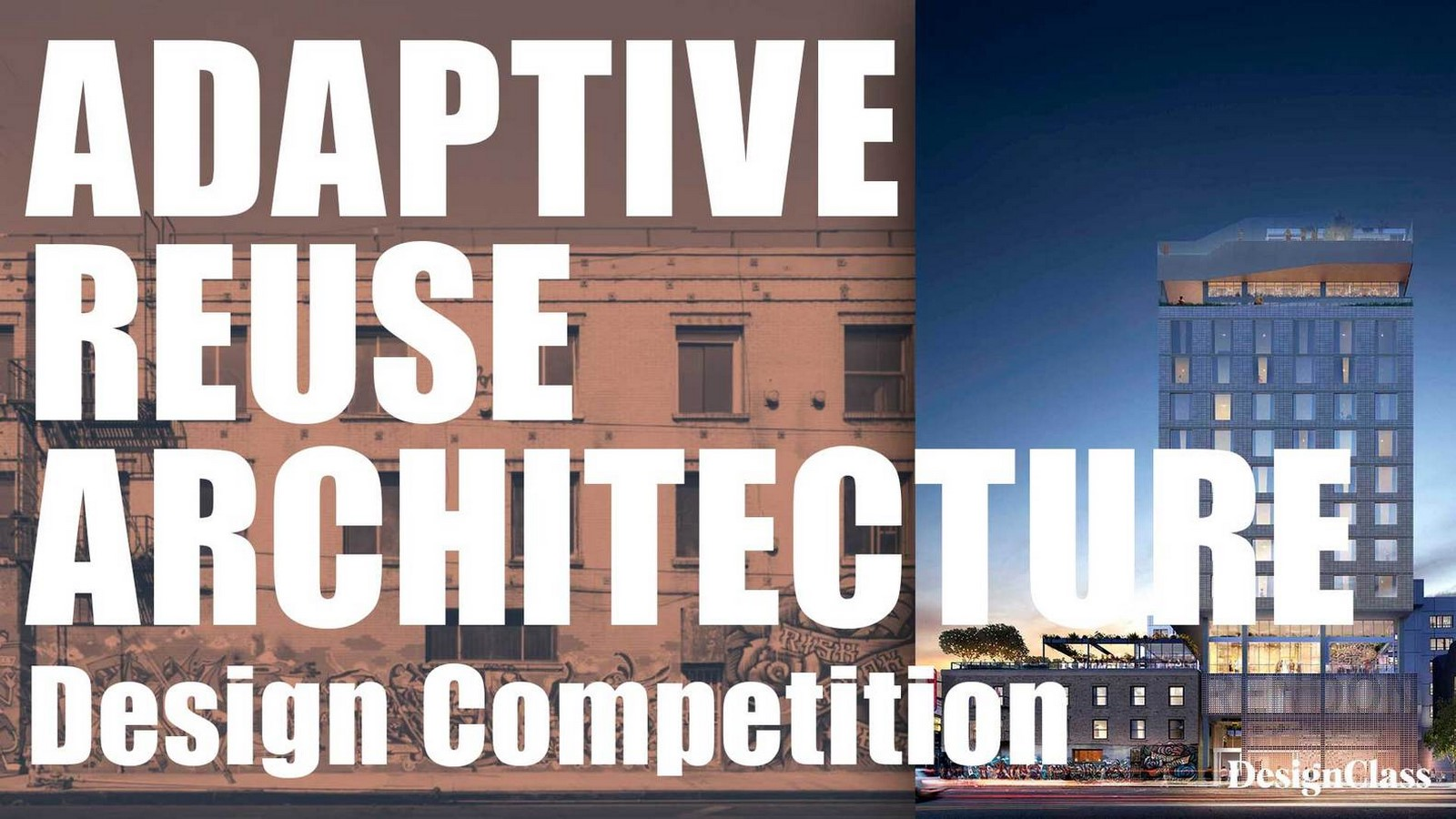 Adaptive Reuse Architecture Design Competition  - Sheet1