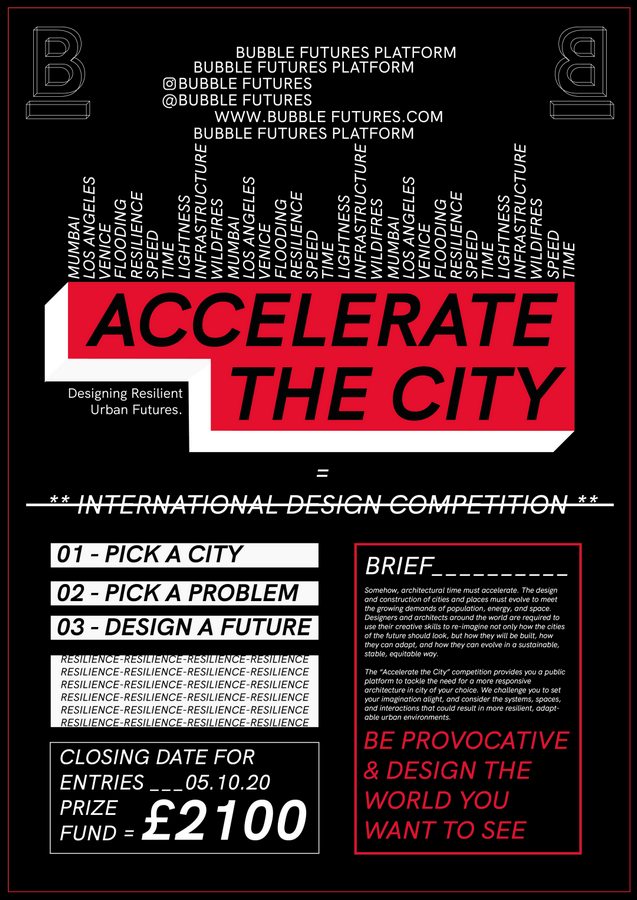 Accelerate the city: Designing resilient urban futures  - Sheet1