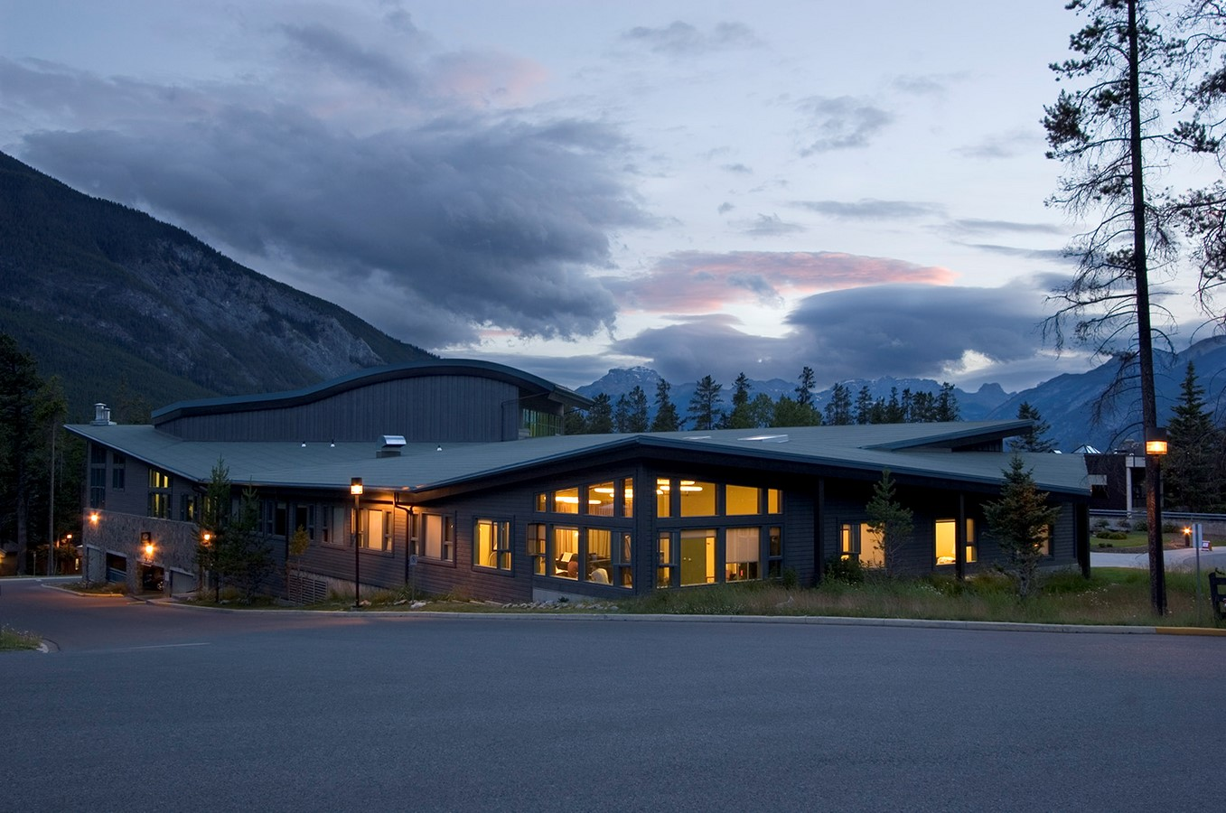 Banff Centre Music and Sound building - Sheet1