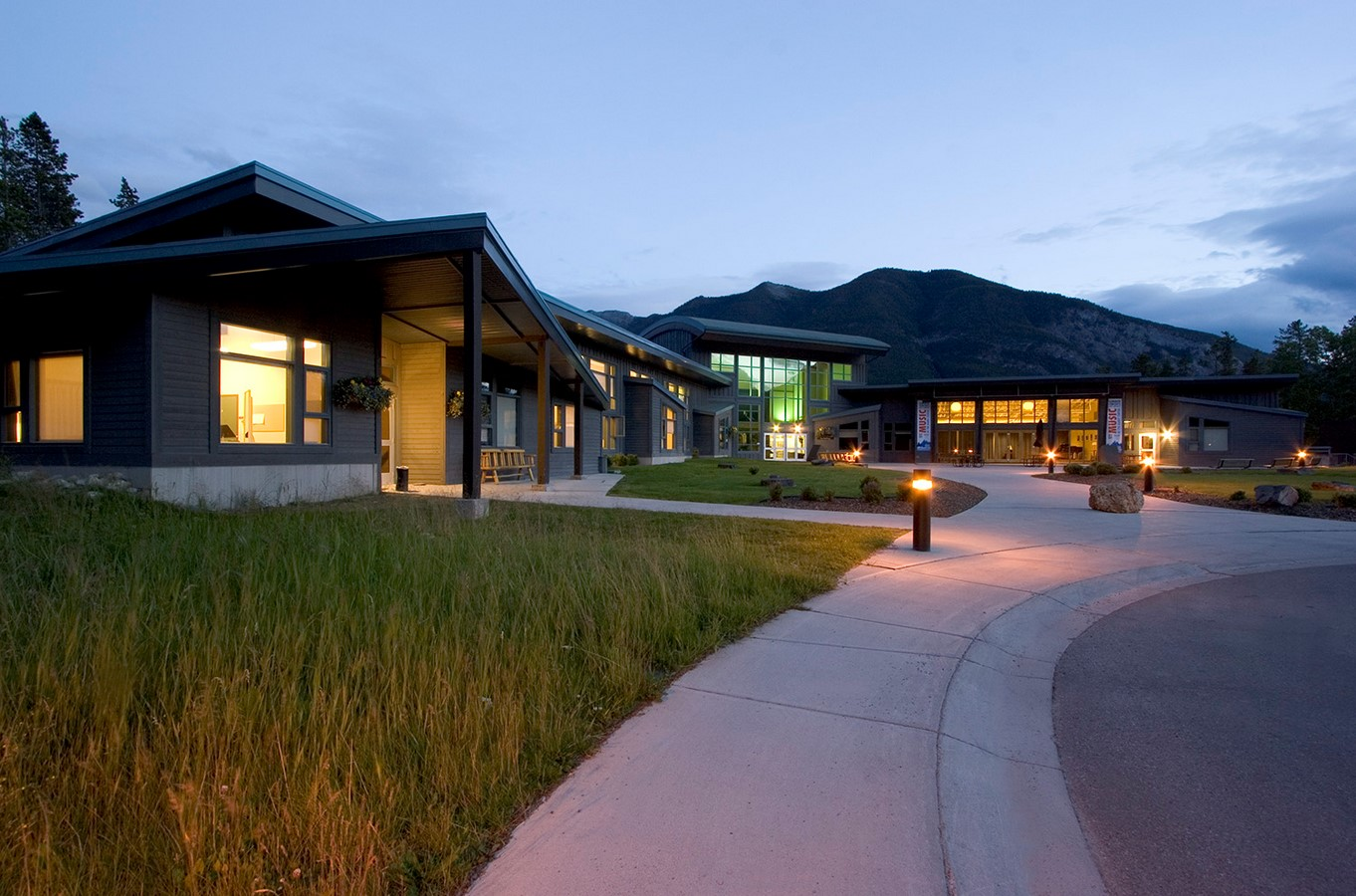 Banff Centre Music and Sound building - Sheet2
