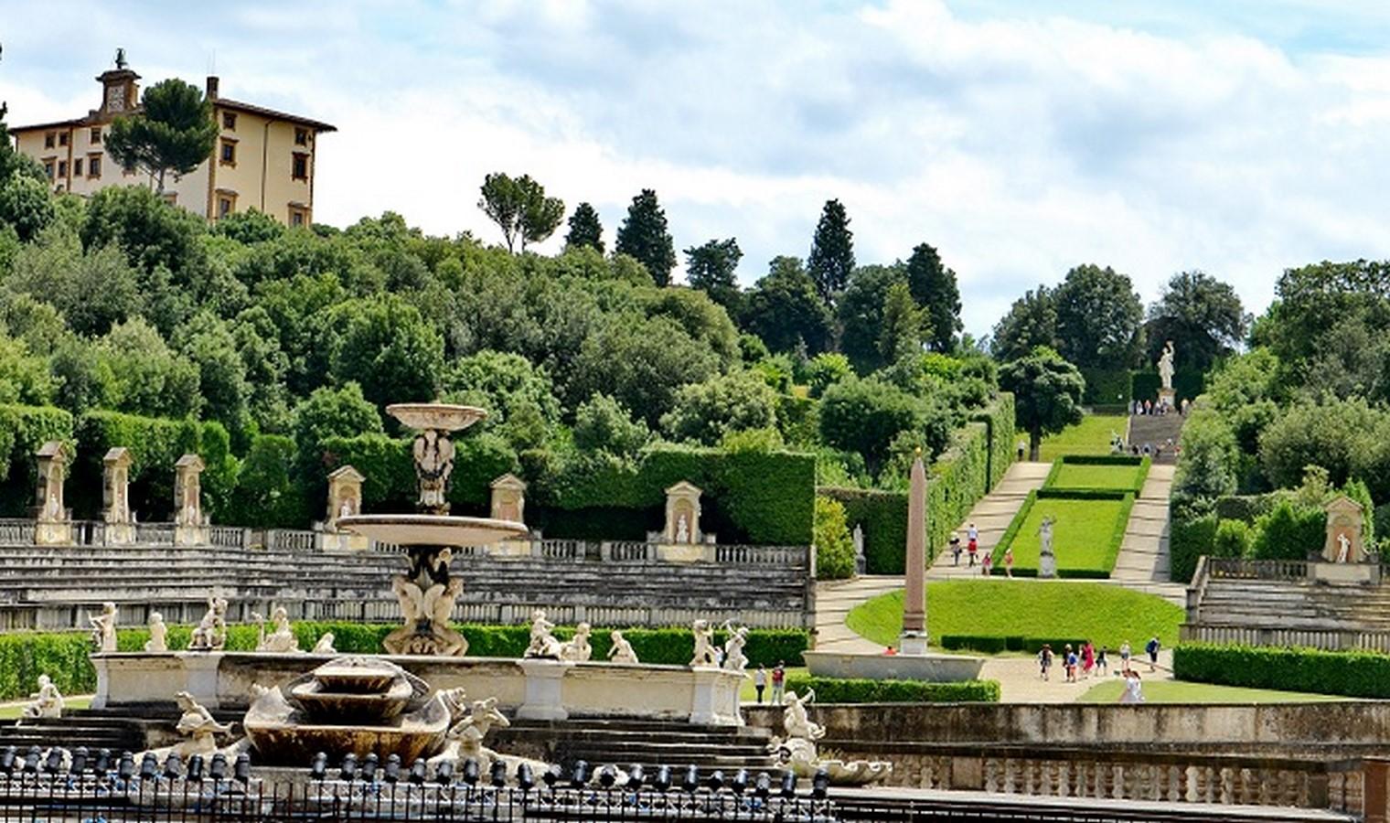 Palazzo Pittiand Boboli Gardens - Sheet3