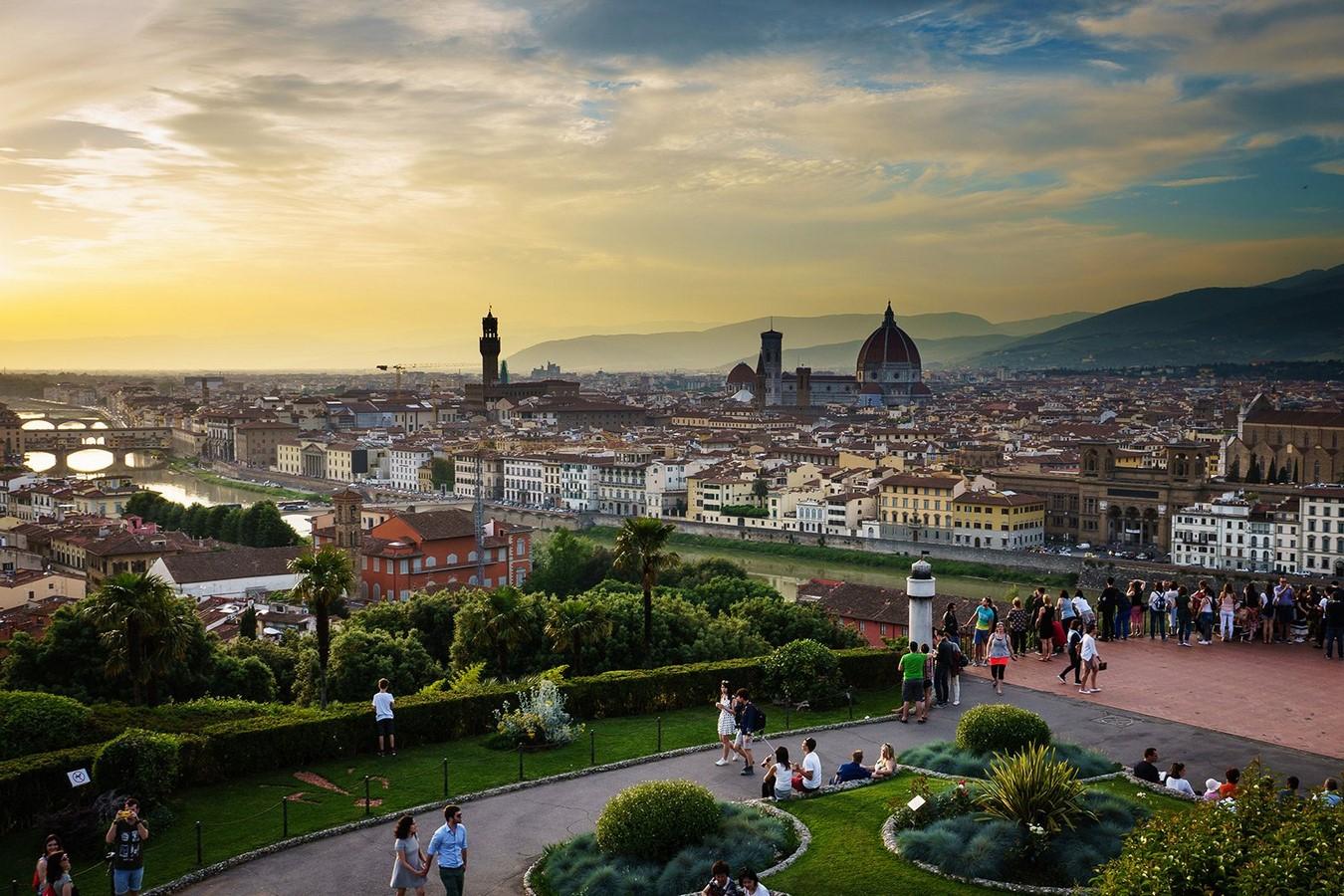 Piazzale Michelangelo - Sheet1
