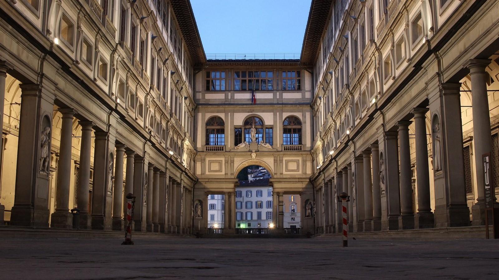 Uffizi Gallery - Sheet1