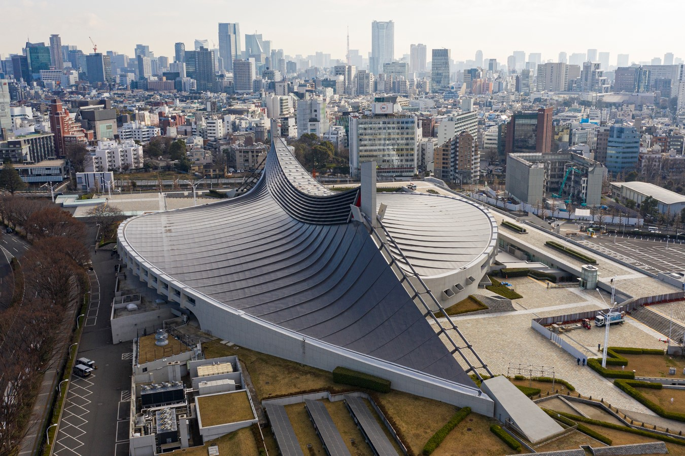 Yoyogi National Gymnasium- A Kenzo Tange Marvel, ahead of its time - Sheet1