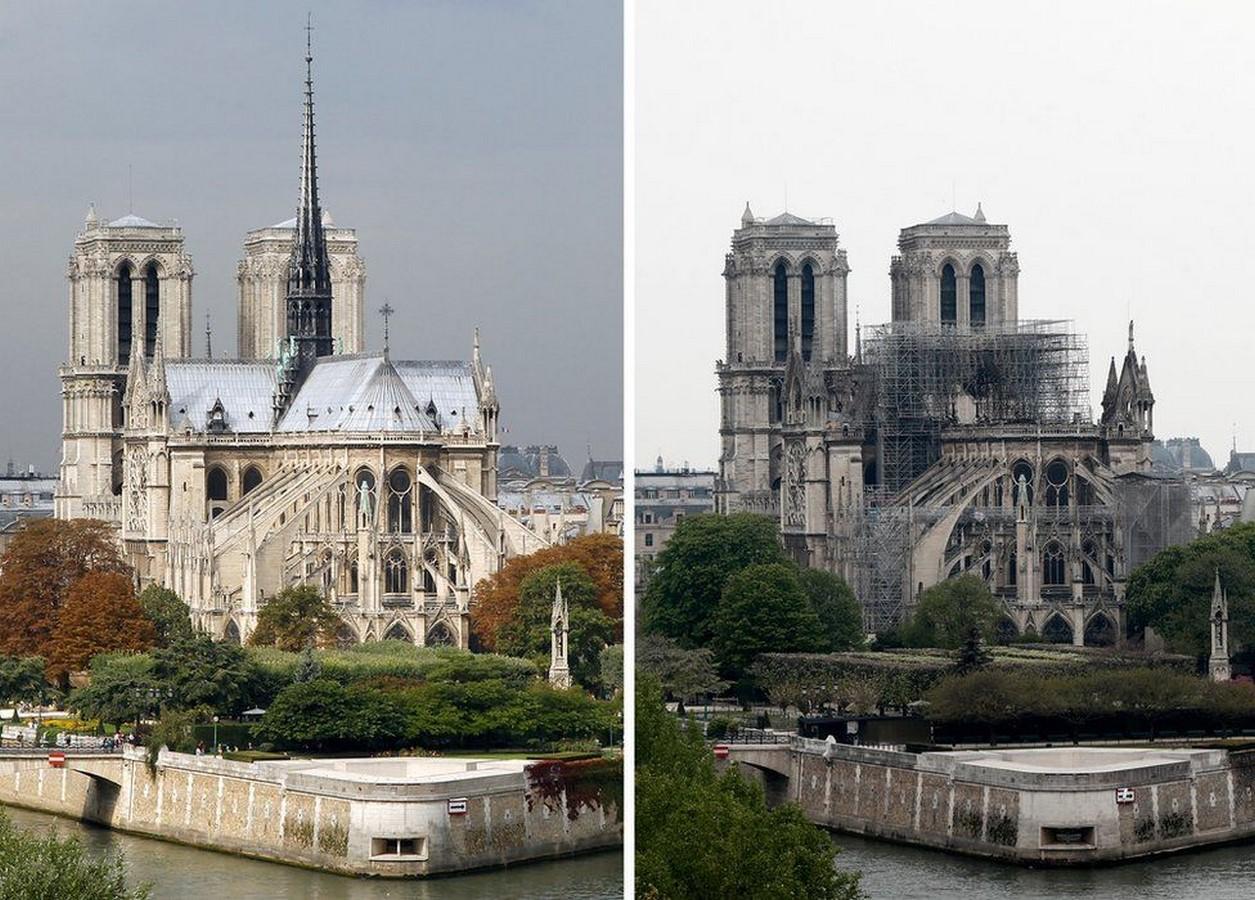 The spire of Notre Dame, Philippe Villeneuve - Sheet2