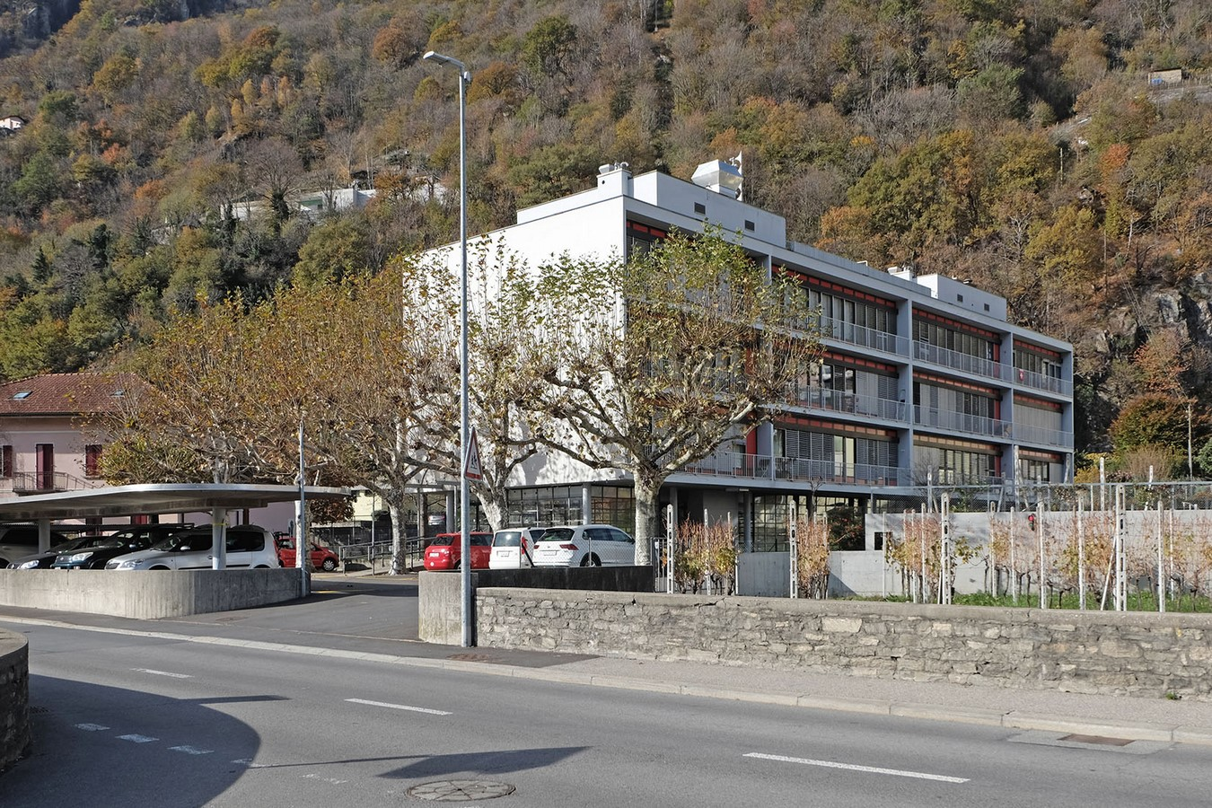 Apartment Building In Carasso - Sheet1