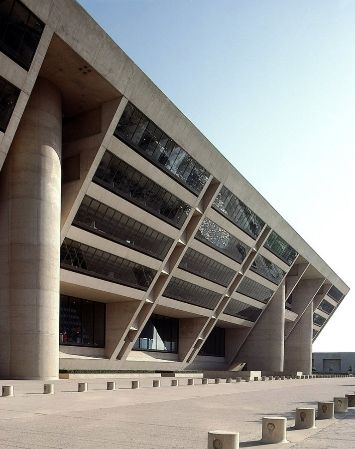 Dallas City Hall, USA by I.M. Pei: The Inverted pyramid design - Sheet3