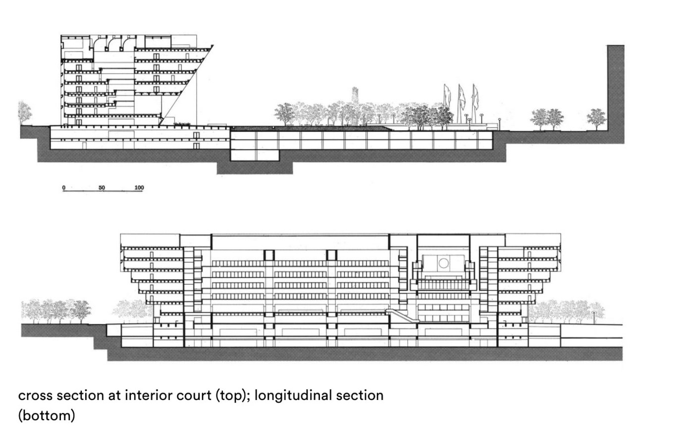 Dallas City Hall, USA by I.M. Pei: The Inverted pyramid design - Sheet5