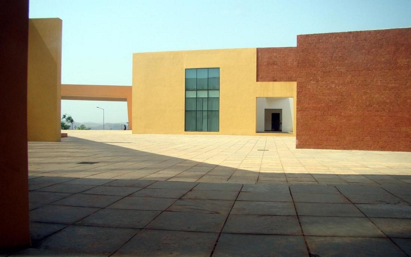 Goa institute of management by Brinda Somaya: Bridge between traditional and conventional design - Sheet1