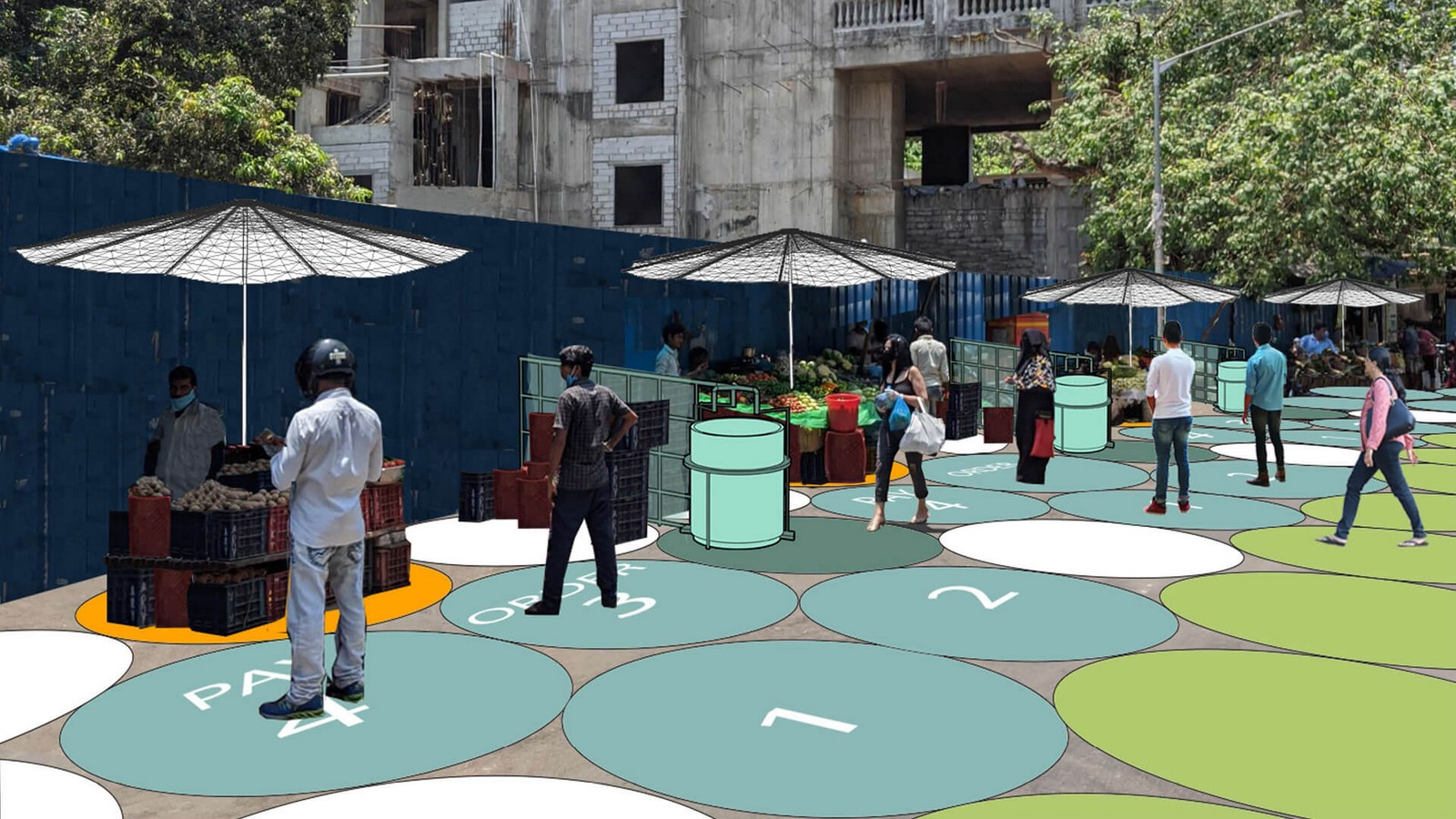 Social distancing and urban planning- The changing urban landscape - Sheet3