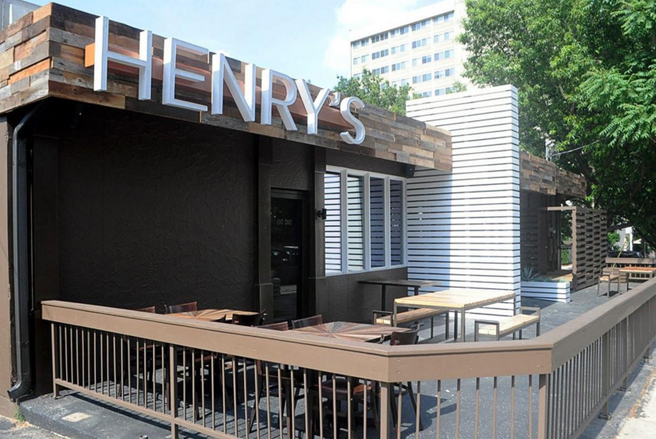 Henry's restaurant Sheet1