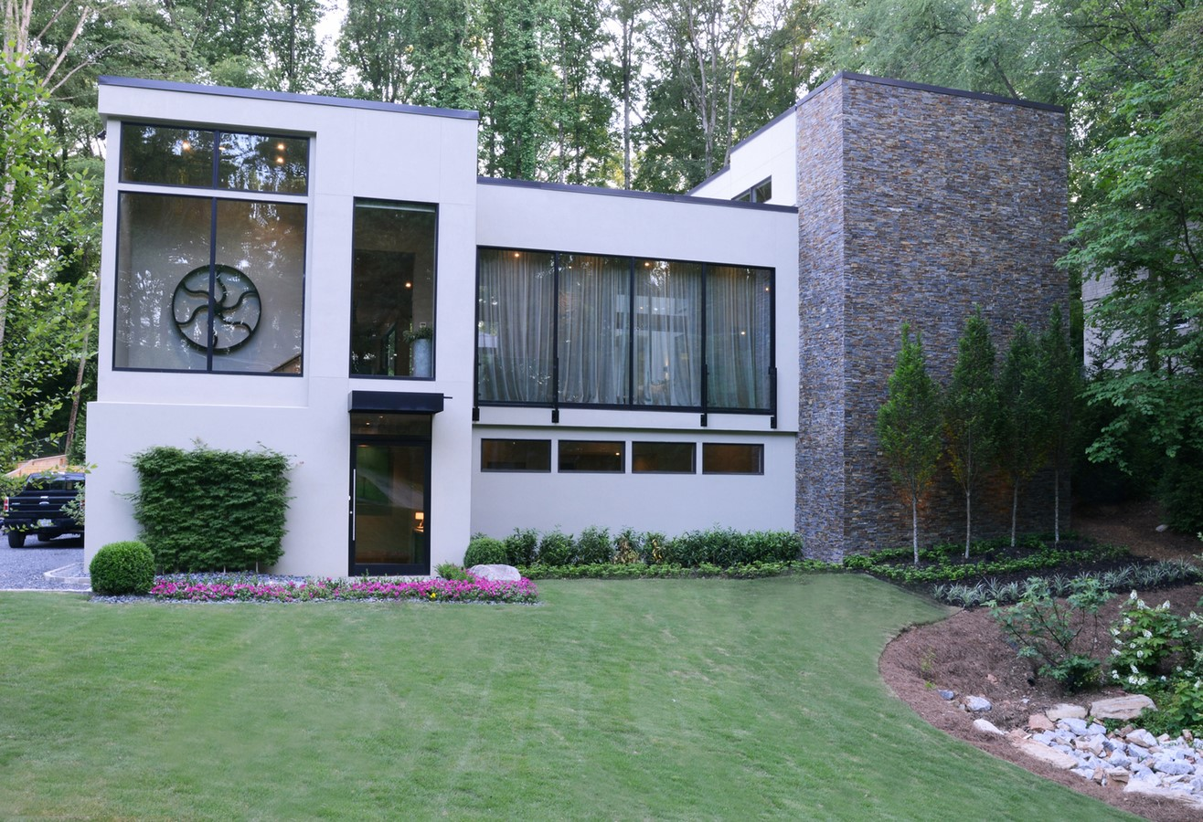Hillside modern home - Sheet1