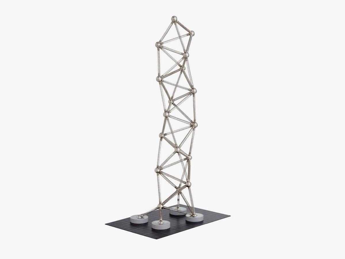 Art Tower Mito by Arata Isozaki -Inspired by Tetrahedra - Sheet3