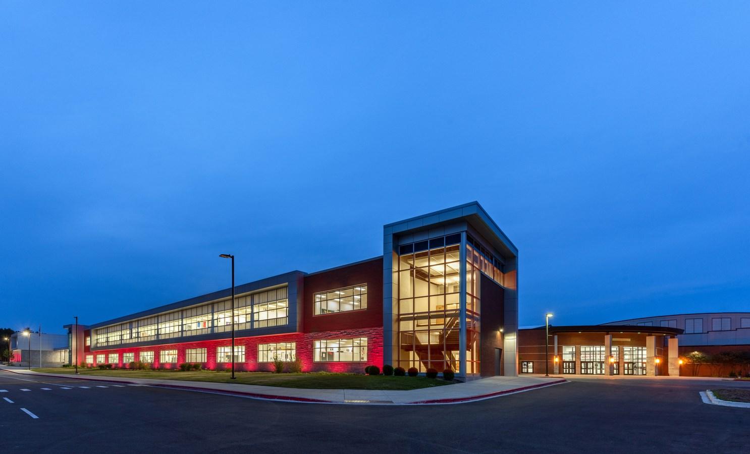 East Aurora High School Expansion by Cordogan Clark - sheet 1