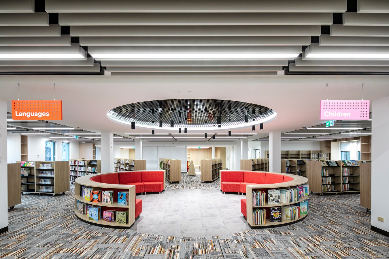 Burwood Council Community Hub, Library and Workplace by DesignInc - sheet  2