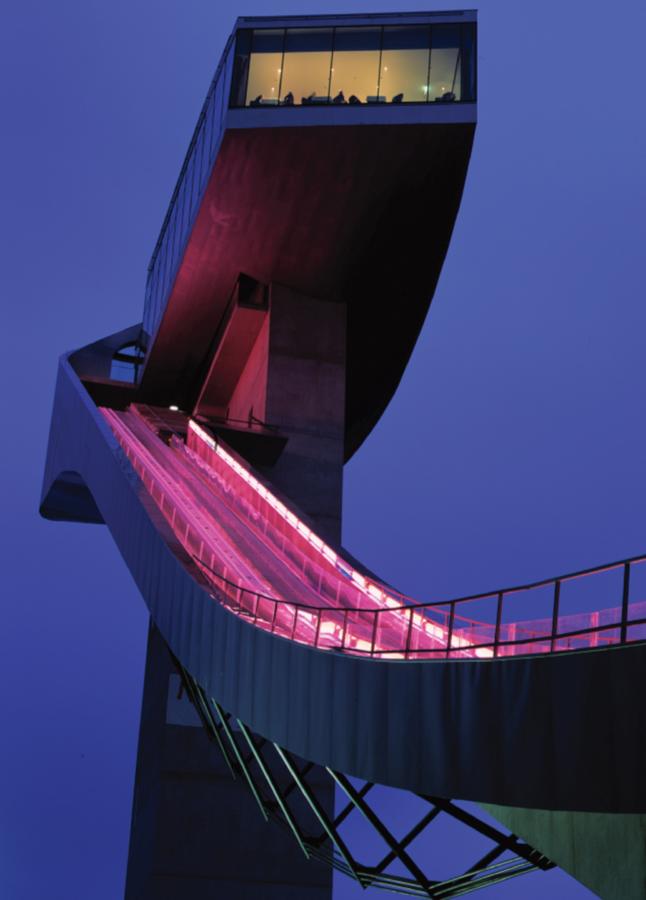 Bergisel Ski Jump by ZHA- Contemporary incarnation of a historic landmark - Sheet