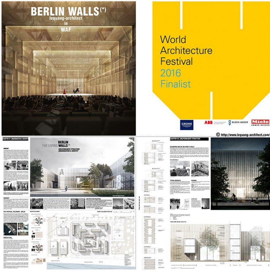 Berlin Walls in by Le Quang Architect- The Living Walls -sheet1